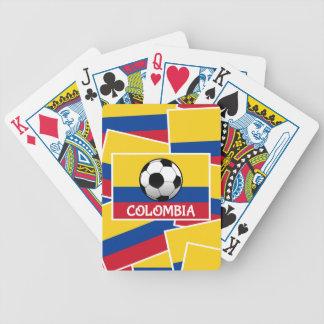 コロンビアのフットボール バイスクルトランプ