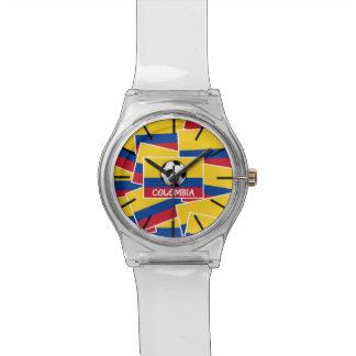 コロンビアのフットボール 腕時計