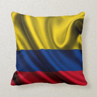 コロンビアの旗の生地 クッション