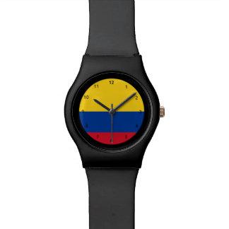 コロンビアの旗の腕時計 腕時計