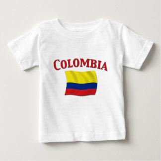 コロンビアの旗3 ベビーTシャツ