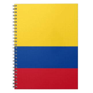 コロンビアの旗 ノートブック
