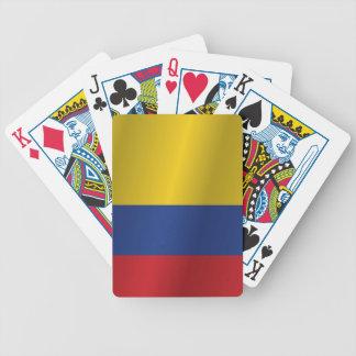 コロンビアの旗 バイスクルトランプ
