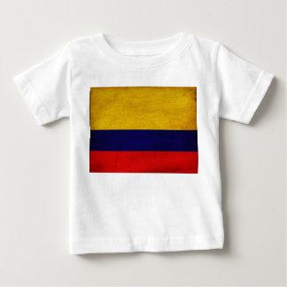コロンビアの旗 ベビーTシャツ