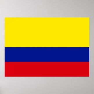 コロンビアの旗 ポスター