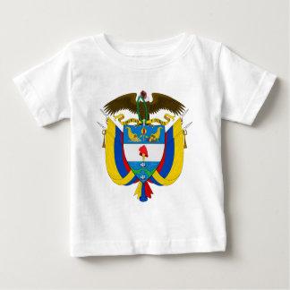 コロンビアの紋章付き外衣 ベビーTシャツ