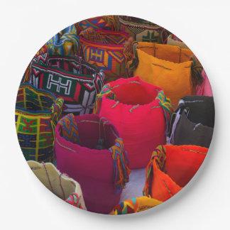 コロンビアの販売のためのWayuuのmochilasのバッグ ペーパープレート