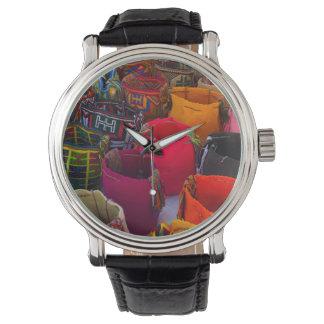 コロンビアの販売のためのWayuuのmochilasのバッグ 腕時計