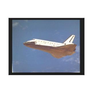 コロンビアのlanding_Space キャンバスプリント