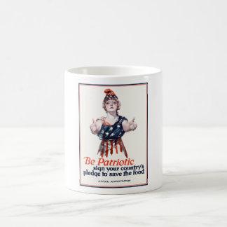 コロンビアは食糧を救うように誘います コーヒーマグカップ