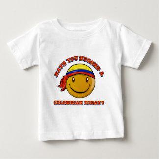 コロンビアを今日抱き締めましたか。 ベビーTシャツ