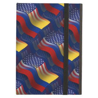 コロンビアアメリカの振る旗 iPad AIRケース