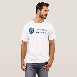 コロンビア大学|のライオンの運動競技 Tシャツ