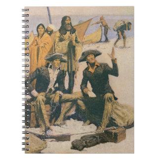 コロンビア川のルイスそしてクラーク ノートブック