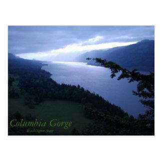 コロンビア川の峡谷 ポストカード