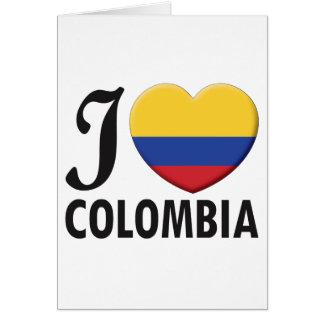 コロンビア愛 カード