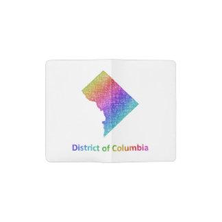 コロンビア特別区 ポケットMoleskineノートブック