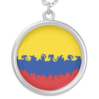 コロンビア|すごい|旗 ネックレス