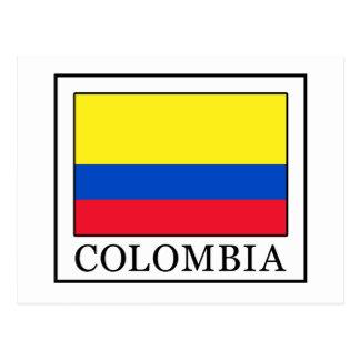 コロンビア ポストカード