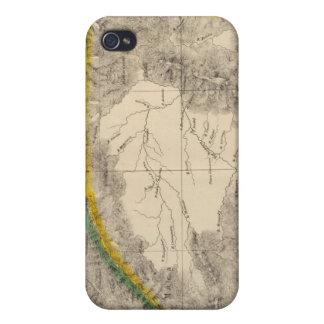 コロンビア、南アメリカ6 iPhone 4 カバー