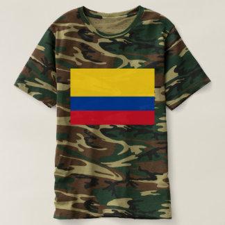 コロンビア- Bandera deコロンビアの旗 Tシャツ