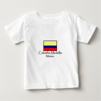 コロンビアMedellinの代表団LDSのTシャツ ベビーTシャツ