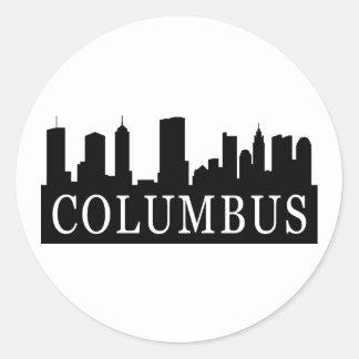 コロンブスのスカイライン ラウンドシール