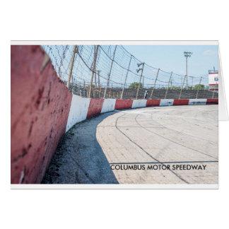 コロンブスのモータースピードウェイ カード