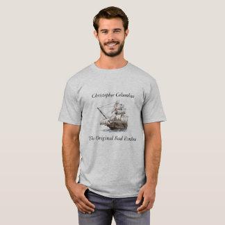 コロンブスの悪い状態Hombre Tシャツ