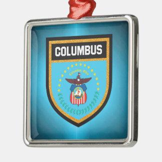 コロンブスの旗 メタルオーナメント