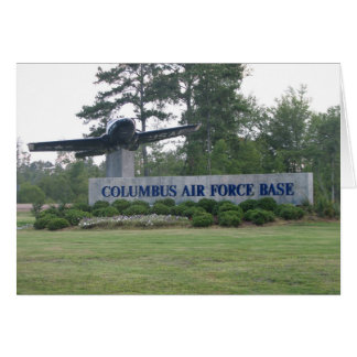 コロンブスの空軍基地 カード