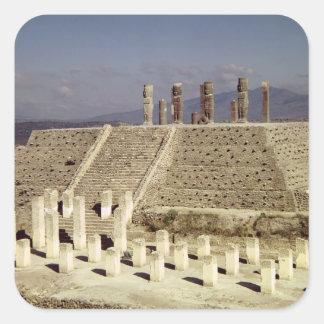 コロンブス以前のピラミッドBの眺め スクエアシール