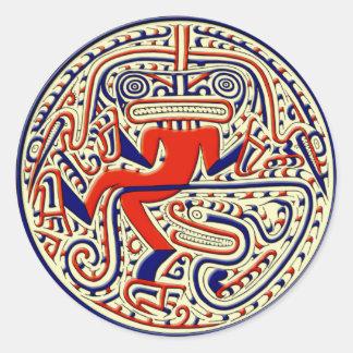 コロンブス以前の神話的な動物 ラウンドシール
