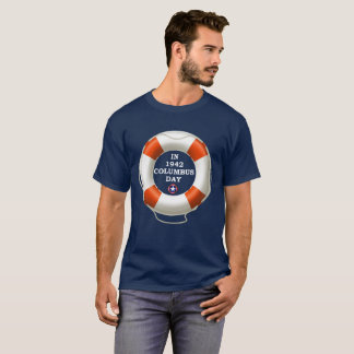 コロンブス記念日の2017年のTシャツ Tシャツ