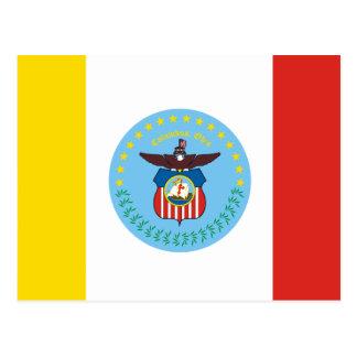 コロンブス、オハイオ州の旗 ポストカード