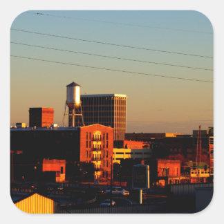 コロンブス、Phenix都市、ALから取られるGAの眺め スクエアシール