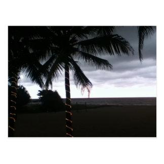 コロンボのビーチ ポストカード
