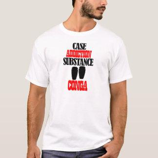 コンガのデザイン Tシャツ