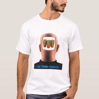 コンガのドラムプレーヤー Tシャツ