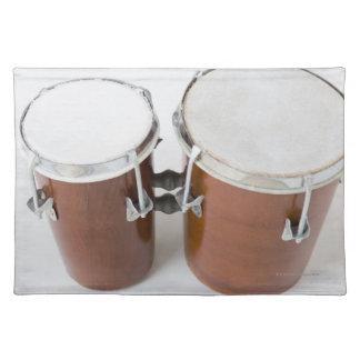 コンガのドラム ランチョンマット