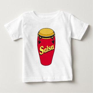 コンガwのサルサ ベビーTシャツ