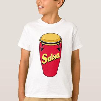 コンガwのサルサ tシャツ