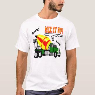 コンクリートミキサー車の組合せそれ! Tシャツ
