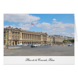 コンコルド広場、パリ カード