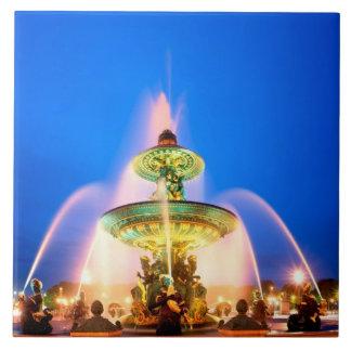 コンコルド広場、パリ、フランス タイル