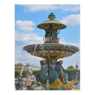 コンコルド広場、パリ ポストカード