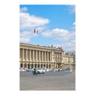 コンコルド広場、パリ 便箋