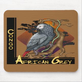 コンゴのアフリカ灰色のマウスパッド マウスパッド