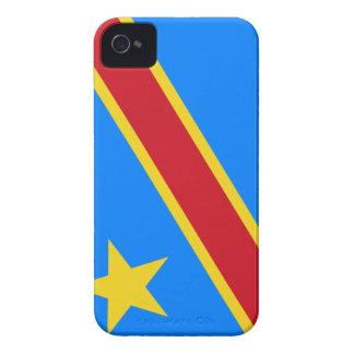 コンゴの旗のiPhoneの場合 Case-Mate iPhone 4 ケース
