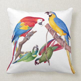 コンゴウインコのオウムの鳥の野性生物動物の装飾用クッション クッション